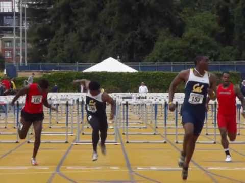 110H - High Hurdles Track and Field Video Footage: Cal's Ray Stewart, 13.55 this weekend.