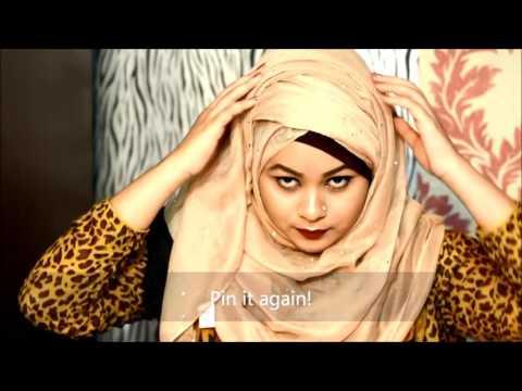Simple Volume Layered Hijab Tutorial By Tabassum HD