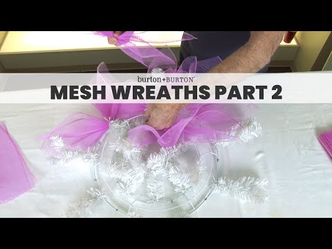Quick Tip: Mesh Wreath
