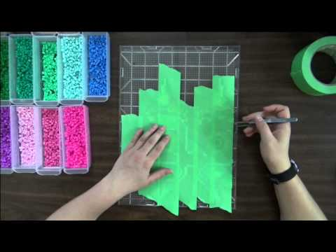 Taping Method Tutorial - For Perler, Artkal, Hama, Nabbi or Other Fuse Beads