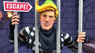 I Got Locked up In Fortnite Prison... (Prison Break)