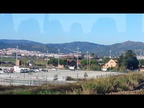 Barcelona El-Prat Airport Bus to Pl Catalunya in Barcelona City Centre ***