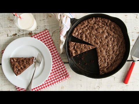 Double Chocolate Skillet Cookie  - Everyday Food with Sarah Carey
