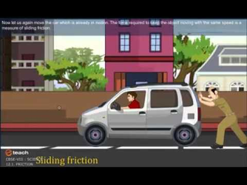 CBSE CLASS 8 SCIENCE FRICTION