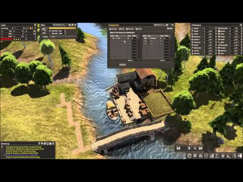 Banished How to use Trading Post