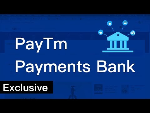 First Look: PayTm Payments Bank!