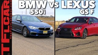 Which Car Is Faster: 2018 BMW 550i xDrive or Lexus GS F?