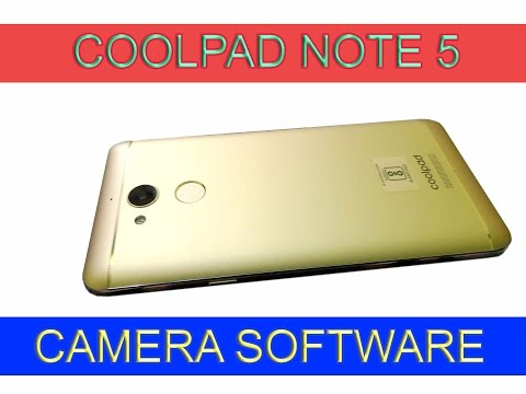 Coolpad Note 5 Camera Software Overview