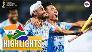 India v South Africa | Odisha Men's Hockey World Cup Bhubaneswar 2018 | HIGHLIGHTS