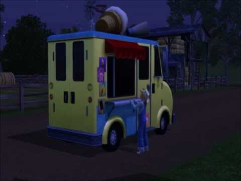 The Sims 3 Pets - Ice Cream truck