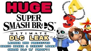 smash dlc leak Videos - 9tube tv