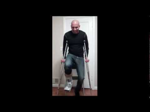 Personal Trainer Portland | Workout with Crutches | Crutches Exercises