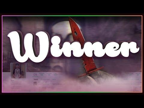 CSGO: Giveaway Winner & Channel News