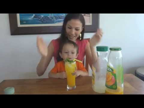Malika's Minute: Spicy Mango Lemonade