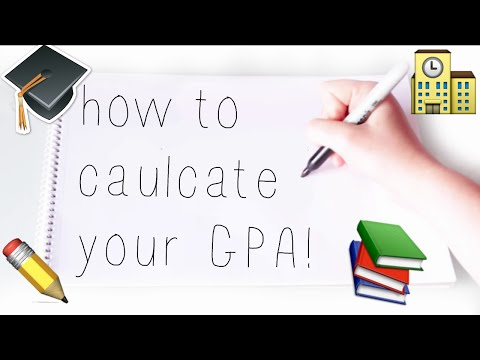HOW TO CALCULATE YOUR GPA!