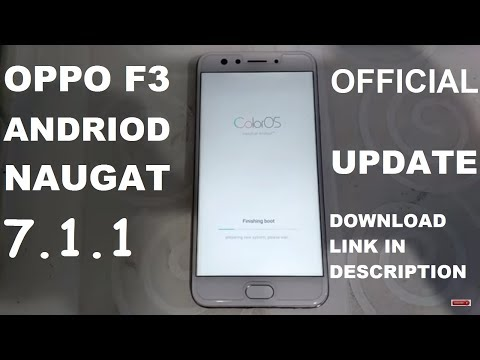 Oppo F3 Naugat 7 1 1 Official Update - PakVim net HD Vdieos Portal