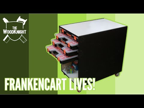 Frankencart Lives! (Small Parts Storage)