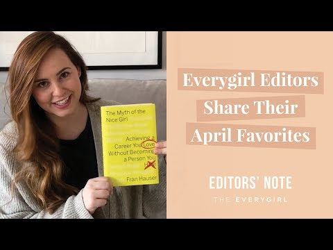 The Book You NEED to Read in April (Plus More Editor Favs!)  •  Editors' Note