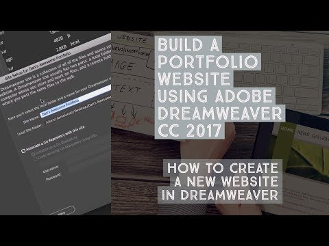 How to create a new website in Dreamweaver - Dreamweaver Templates [4/38]