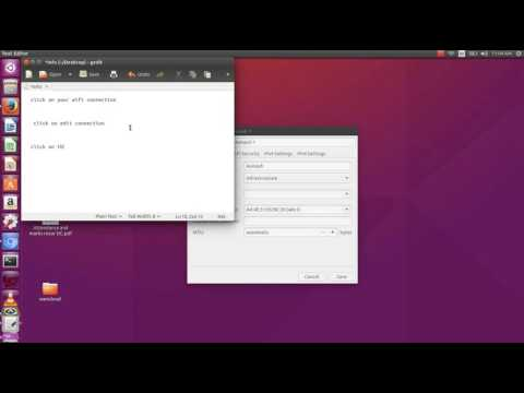 how to find wifi password of your current network on ubuntu