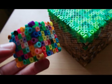 Perler bead 3D cube (without glue)
