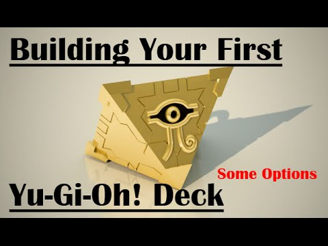 Building Your First YuGiOh Deck