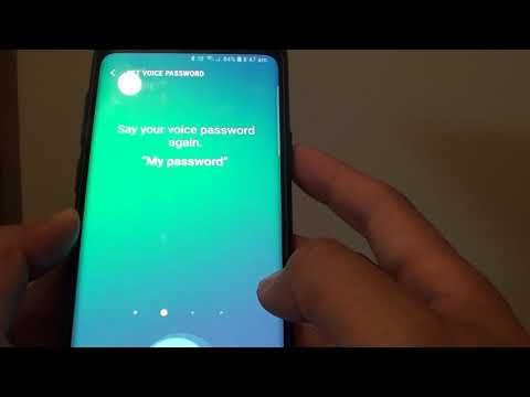 Samsung Galaxy S9: How to Setup Bixby to Unlock With Voice Password