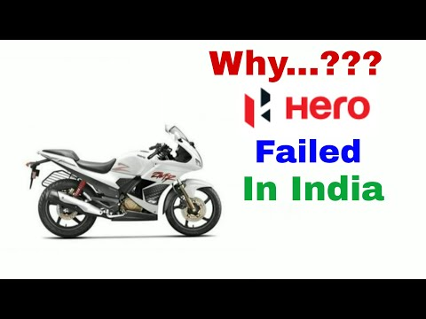 Why HERO MOTOCORP FAILED to Grab attention of Indian Customers​ by Hero Karizma ZMR