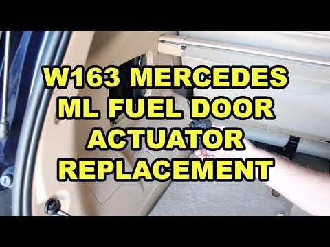 Mercedes-Benz ML320 Gas Flap Actuator Replacement (W163)