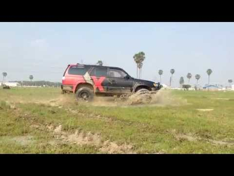 Testing the 4WD on my 4Runner