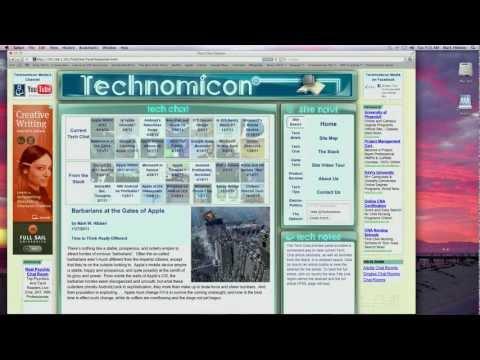 Technomicon Site Video Tour - Updated 7/24/12