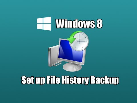 Set up File History Backup in Windows 8