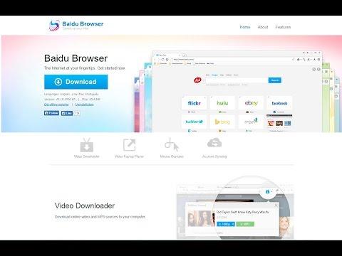 Baidu Browser Uninstall Guide