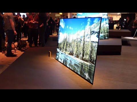 Sony BRAVIA A1 OLED 4K  (Sony KD-65A1) BEST TV 2018