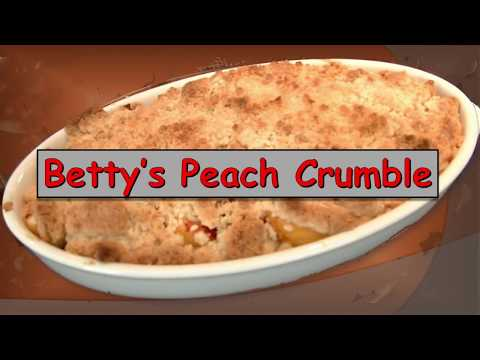 Peach Crumble - Quick and Easy!