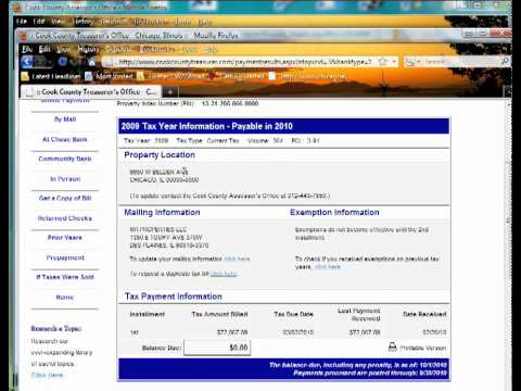 How to Find Property Tax Information