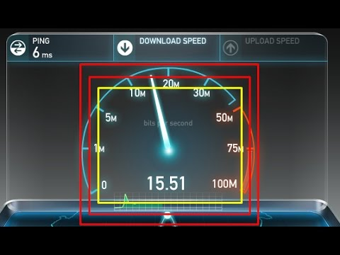 How to increase broadband internet speed up to 15-20 mbps.