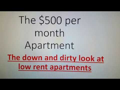 How to find a cheap apartment: problems with apartment buildings, finding a rental home,