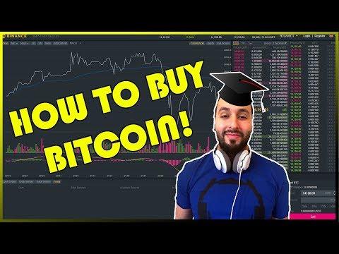 How To Buy Bitcoin!