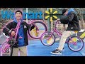 WE BOUGHT AN 80 WALMART BMX BIKE DESTROYED IT AND THEN RETURNED IT