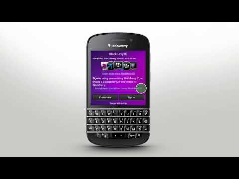Getting Started: BlackBerry Q10 - Official How To Demo