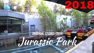 Jurassic Park @ Universal Studios Hollywood - 2018