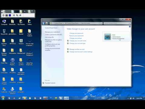 How to Create a New User in Windows 7