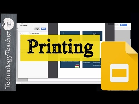 How to Print | Google Slides