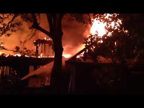 House fire near Pearl River