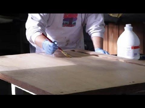 How to Bleach Furniture : Furniture Restoration & General Care