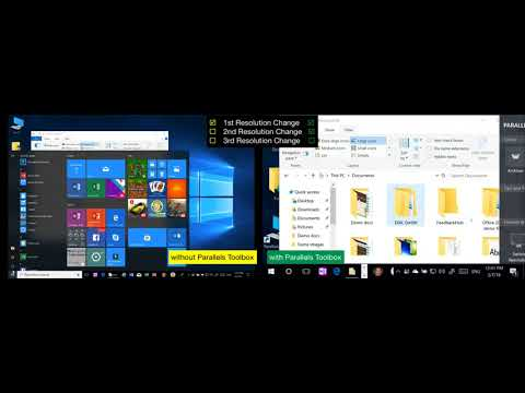How to quickly change your PC screen resolution: Windows Display Settings vs. Parallels Toolbox