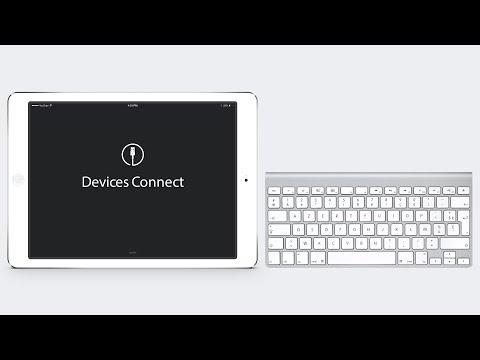 iPad Air & Apple Wireless Keyboard