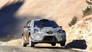 - Test Toyota Yaris WRC 2017 - Juho Hanninen - Checkpoint Rallye -