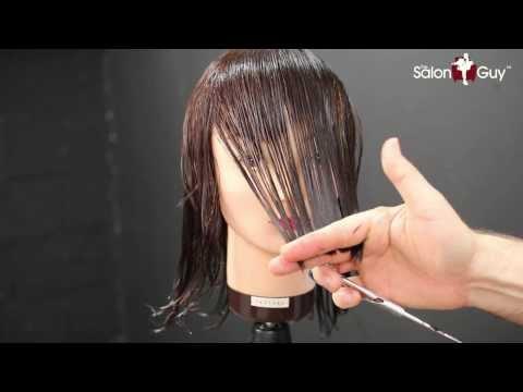 Haircut Tutorial - Medium Length Layers